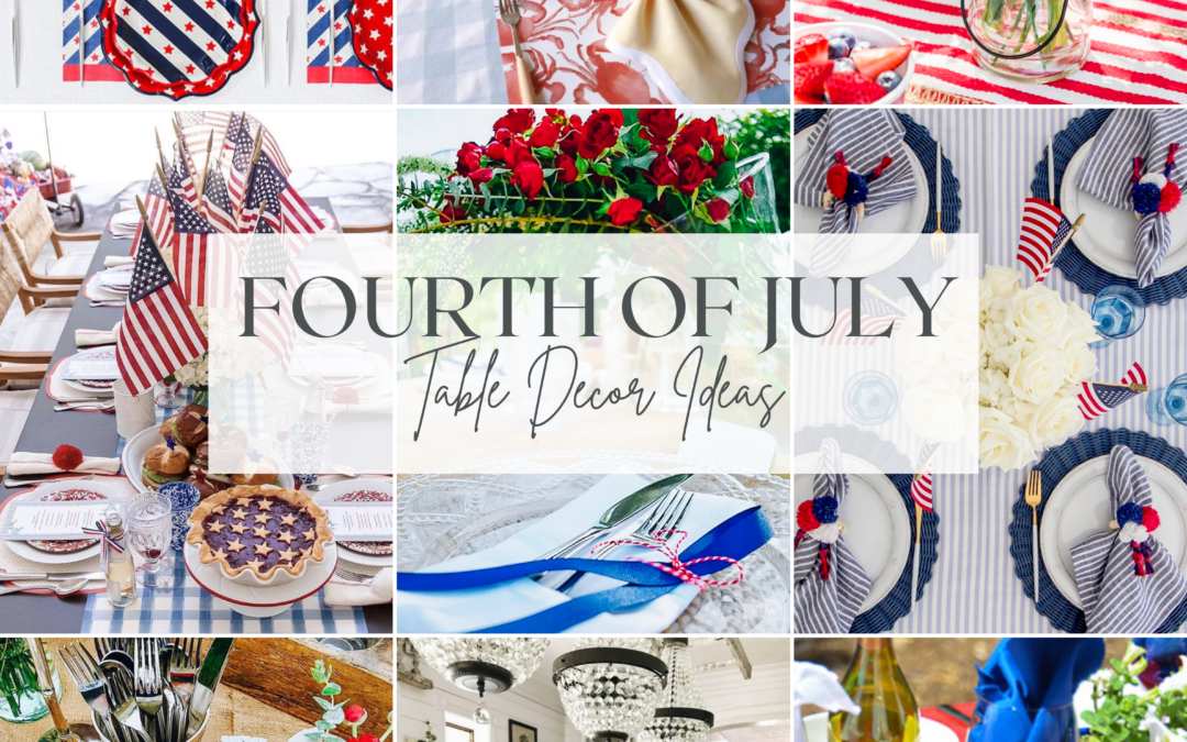 Fourth of July Table Decor Ideas